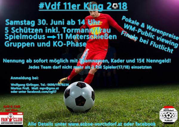 Plakat #11er-King 2018