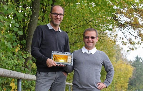 """Gerhard und Martin Fischer mit dem Projekt """"Totenbilder.at"""""""