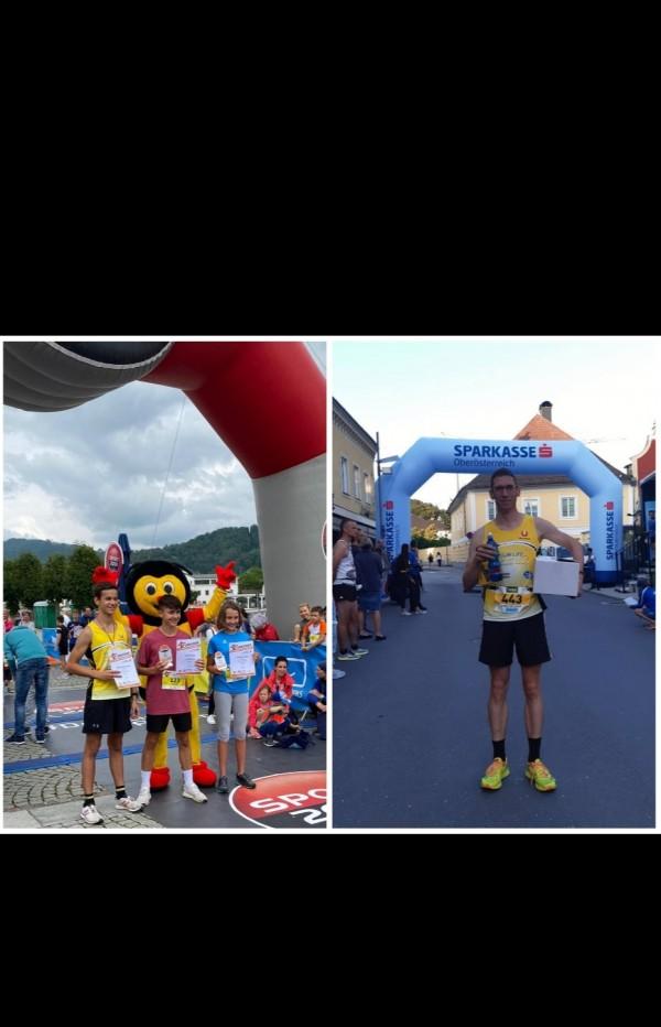 Gmunden Bergmarathon/Schülerlauf und Vöcklabrucker Stadtlauf