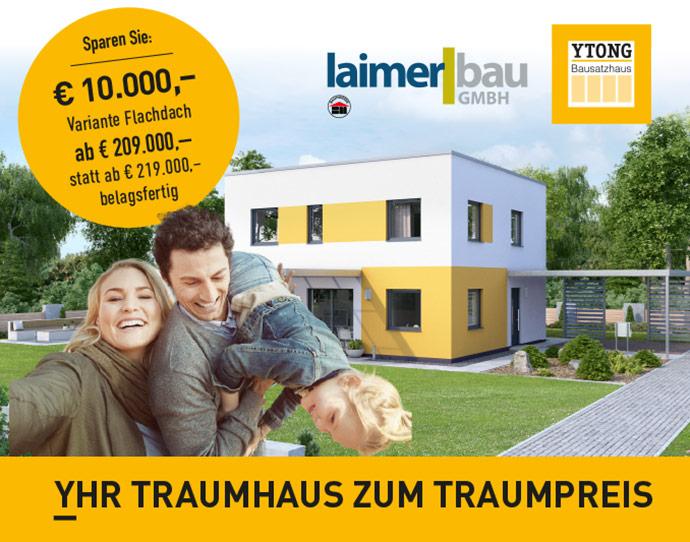 yhr traumhaus zum traumpreis flachdach vorchdorf online. Black Bedroom Furniture Sets. Home Design Ideas